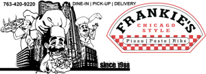Frankie's Pizza Coupon Code